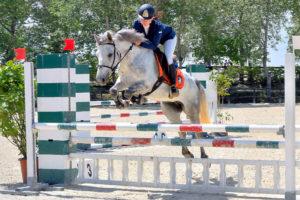 Cashelbay Lilly a Tortona (AL), 15 maggio 2016 - Nazionale B100, salto ostacoli