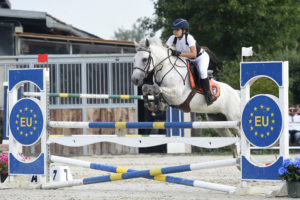 Cashelbay Lilly a Vinovo (TO), 28-30 luglio 2017 - International Show Jumping CSIP-A*, salto ostacoli